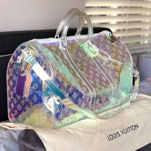 Keepall Bandouliere 50 Iridescent Prism